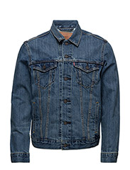 THE TRUCKER JACKET THE SHELF - BLUES
