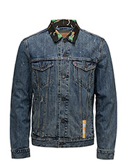 THE TRUCKER JACKET - HULA COLLAR TRUCKER