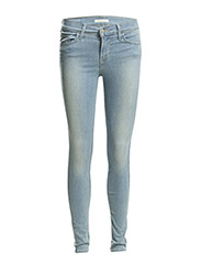 INNOVATION SUPER SKINNY NORTHE - Light Indigo - Worn In