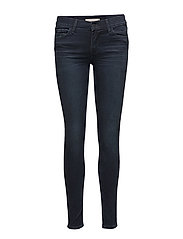 INNOVATION SUPER SKINNY DANTES - MED INDIGO - WORN IN