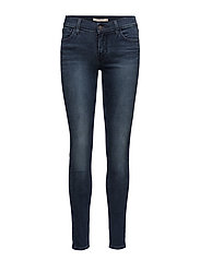 INNOVATION SUPER SKINNY ONE DR - MED INDIGO - WORN IN