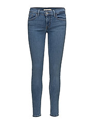 INNOVATION SUPER SKINNY CHELSE - LIGHT INDIGO - WORN IN