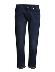501 CT JEANS FOR WOMEN CALI CO - DARK INDIGO - WORN IN