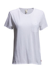 THE PERFECT POCKET TEE WHITE X - Neutrals
