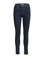 721 HIGH RISE SKINNY LONE WOLF - DARK INDIGO - FLAT FINISH