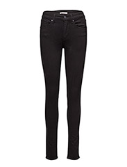 721 HIGH RISE SKINNY BLACK SHE - BLACKS