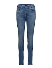 721 HIGH RISE SKINNY UPTOWN IN - DARK INDIGO - FLAT FINISH