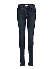 721 HIGH RISE SKINNY AMNESIA - DARK INDIGO - WORN IN