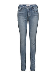 721 HIGH RISE SKINNY MEANT TO - DARK INDIGO - WORN IN
