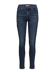721 HIGH RISE SKINNY GAME ON - DARK INDIGO - WORN IN