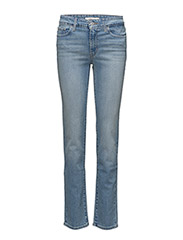 712 SLIM WEST END GIRL - LIGHT INDIGO - WORN IN