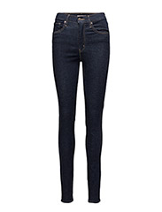 MILE HIGH SUPER SKINNY HIGH SO - MED INDIGO - WORN IN