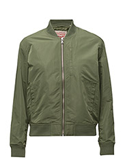 FASHION BOMBER BLUISH OLIVE - GREENS