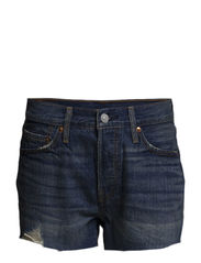 501 SHORT BOOM TOWN - Light Indigo - Flat Finis