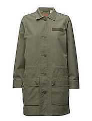 PETRA MILITARY JACKET DEEP LIC - GREENS