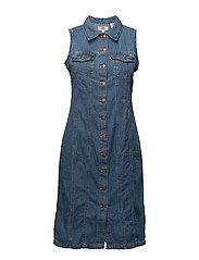 AUBREY WESTERN DRESS - AUBREY FINISH
