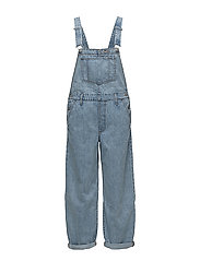 BAGGY OVERALL MISS TWIN PEAKS - MED INDIGO - FLAT FINISH