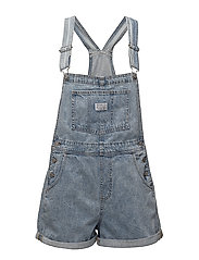 VINTAGE SHORTALL WALK AWAY - MED INDIGO - WORN IN