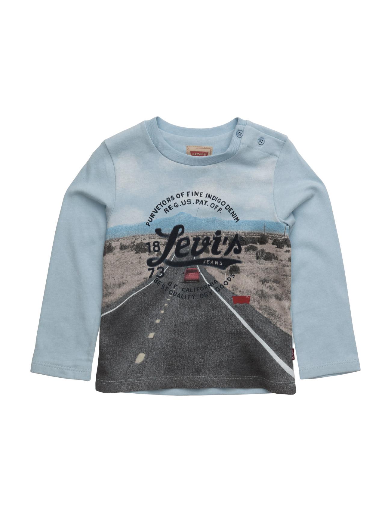Ls Tee Tom Levi's Kids Langærmede t-shirts til Børn i Lyseblå