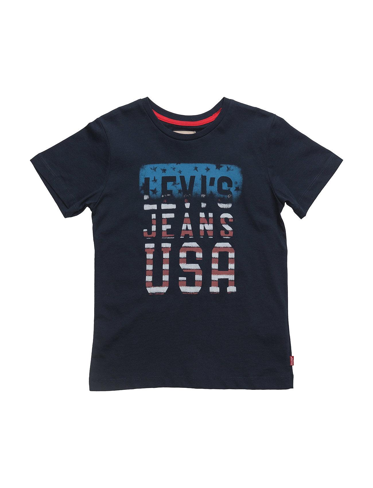 Ss Tee Antoine Levi's Kids Kortärmad T-Shirts