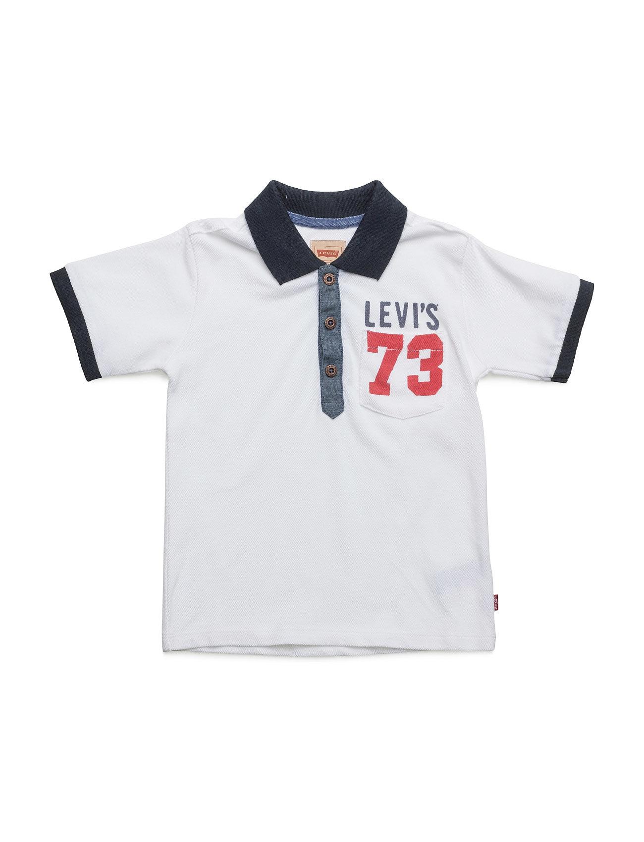Ss Polo Omy Levi's Kids Kortærmede t-shirts til Børn i hvid