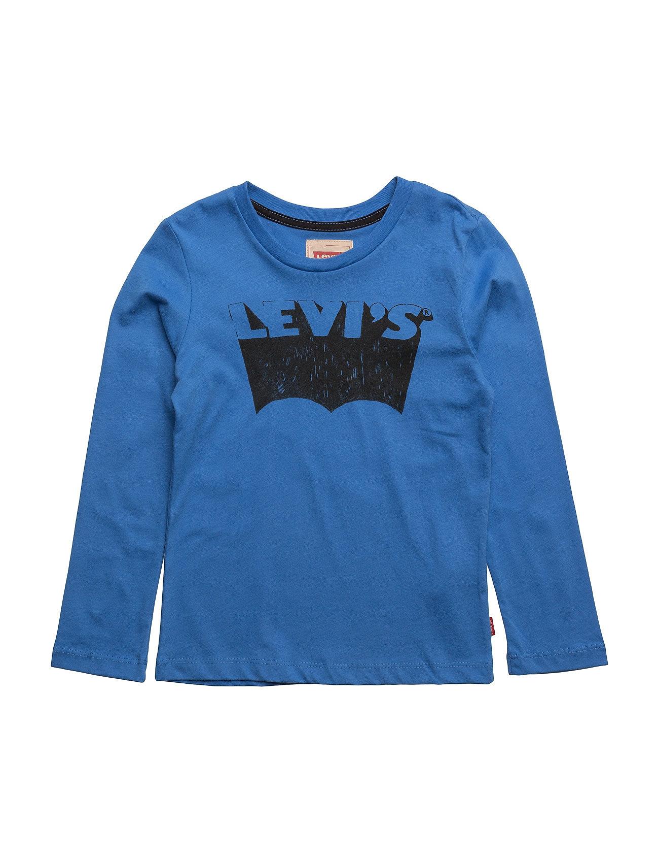 Ls Tee Bat Levi's Kids Langærmede t-shirts til Børn i turkis