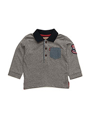 LS POLO OMAR - CHINA GREY