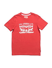SS TEE HORSES - RED