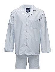 American Authentic Pajama - LT BLUE/WHITE