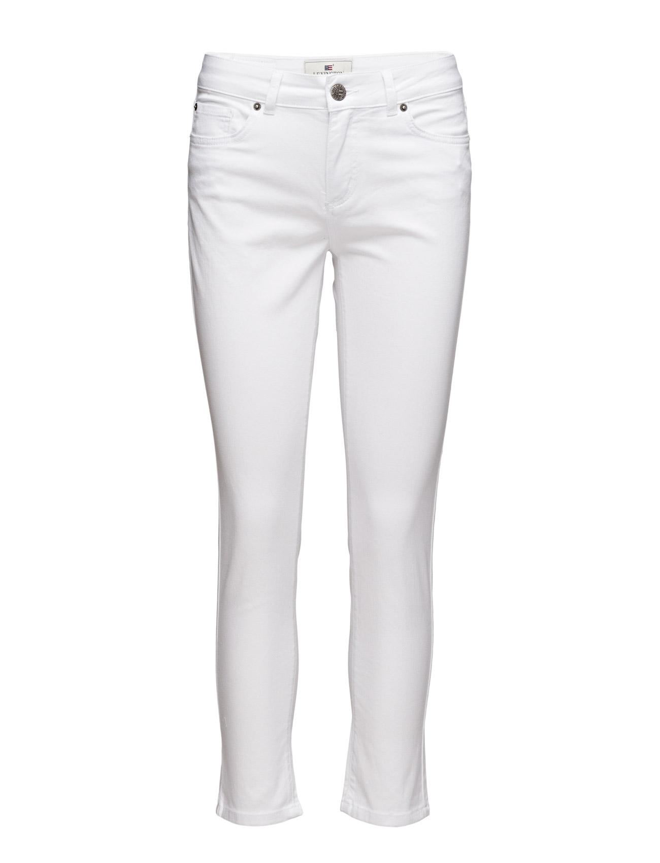 Zoe Pants Lexington Company Skinny til Damer i Bright White