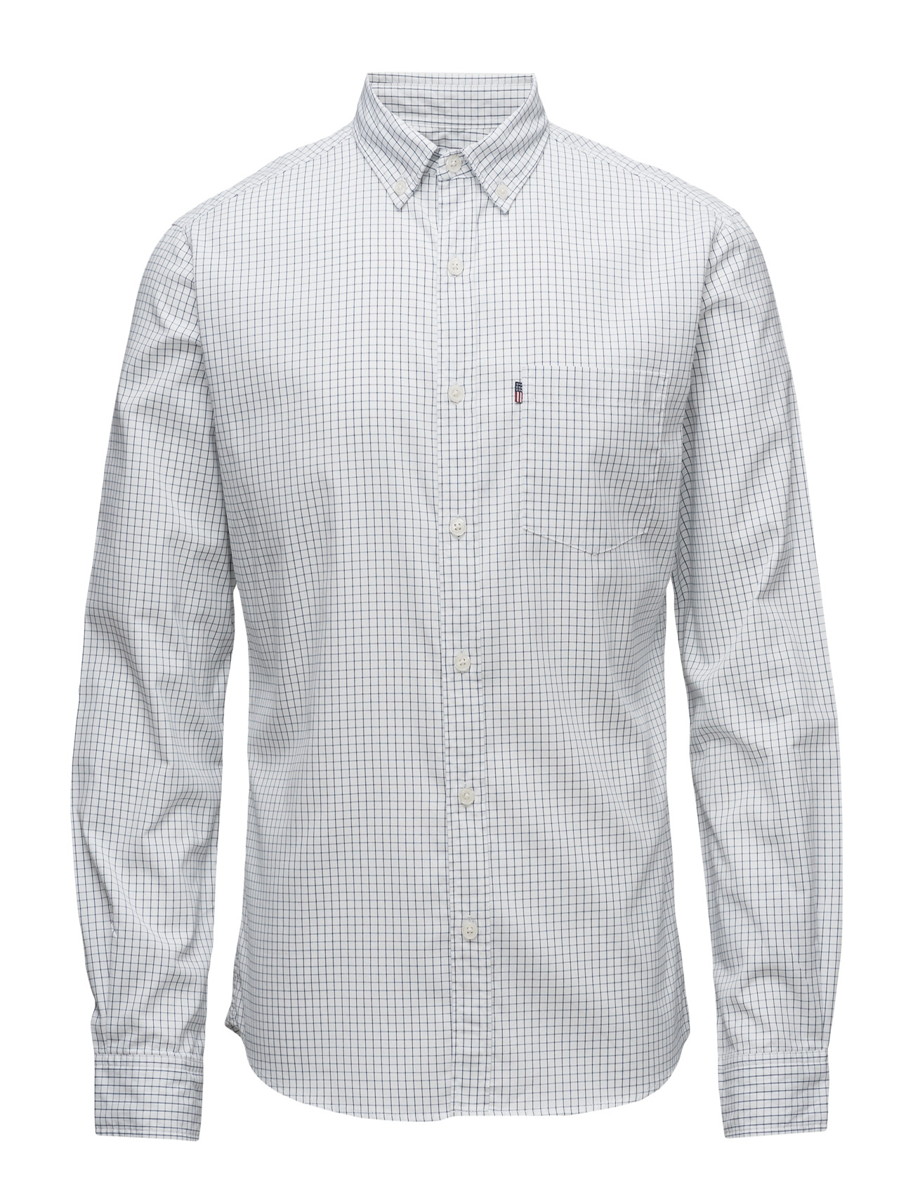 Peter Light Oxford Shirt Lexington Company Casual sko til Mænd i