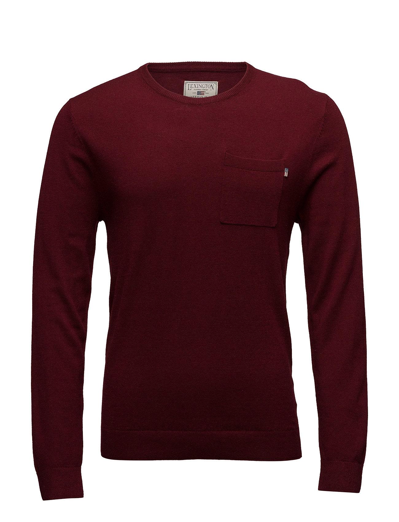 Jeff Crew Neck Sweater Lexington Company Striktøj til Mænd i