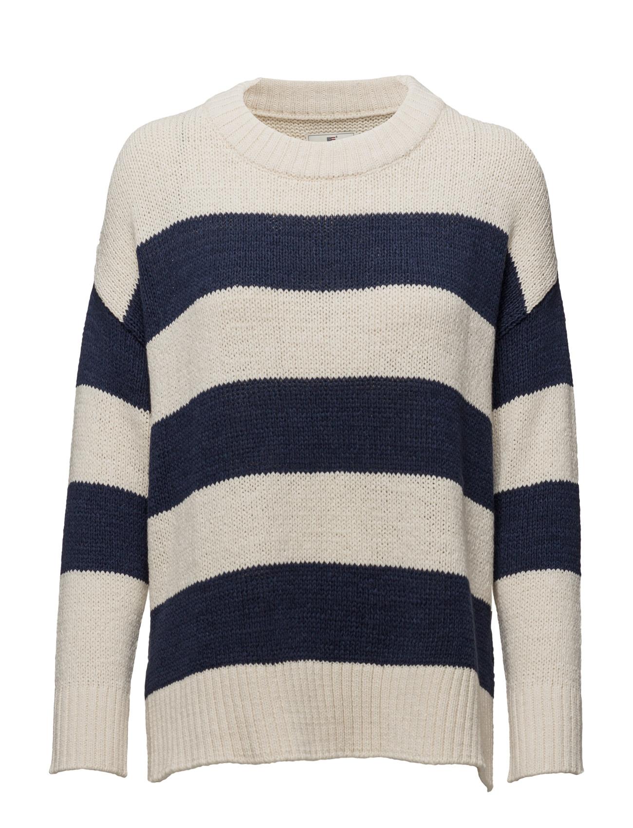 Amber Lee Sweater Lexington Company Sweatshirts til Kvinder i Blå