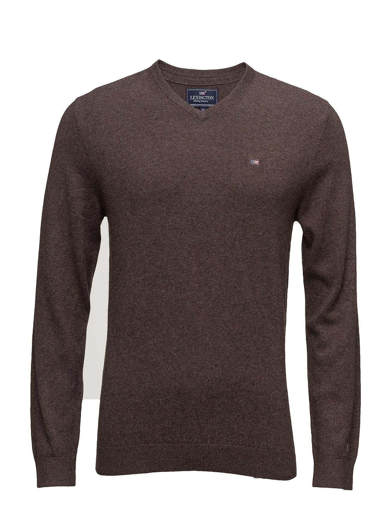 Nicholas V-Neck Sweater Lexington Company V-halsede til Herrer i