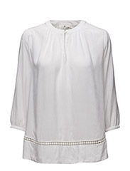 Therese Tunic - BRIGHT WHITE