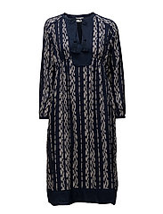 Helena Dress - IKAT PRINT