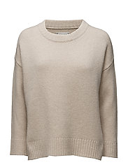 Amber Lee Sweater - SHELL WHITE