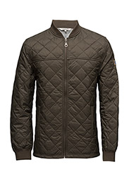 Tyler Quilted Jacket - HUNTER GREEN