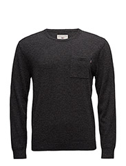 Jeff Crew Neck Sweater - ANTHRACITE GRAY