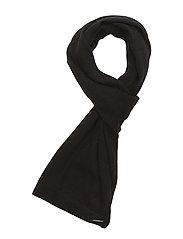 Wainscott Cashmere Scarf - CAVIAR BLACK