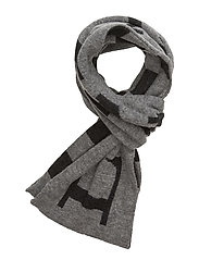 Burbank Scarf - HEATHER GRAY MELANGE