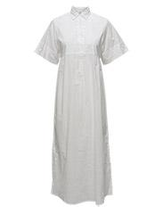Lana Long Dress - SNOW WHITE