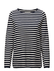 Paula Sweater - BLUE/WHITE STRIPE