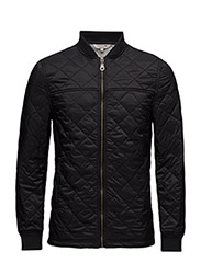 Tyler Quilted Jacket - CAVIAR BLACK