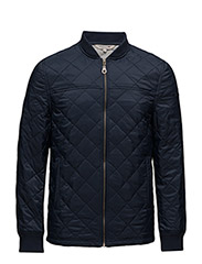Tyler Quilted Jacket - DEEPEST BLUE