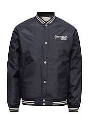 Quincy College Jacket - DEEP MARINE BLUE