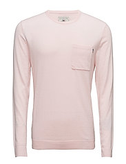 Jeff Crewneck Sweater  1 - LIGHT PINK