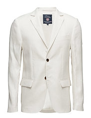 Jason Linen Jacket - SNOW WHITE