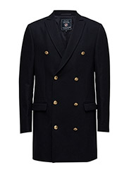 Leonard Long Jacket - DEEP MARINE BLUE