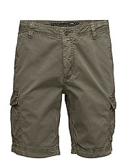 Jacob Cargo Shorts - OLIVE NIGHT